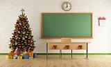 Christmas classroom