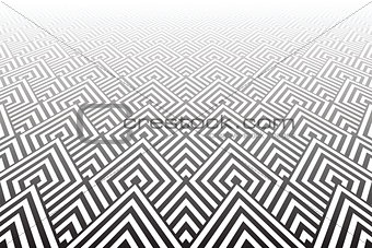 Tiled textured surface. Abstract geometric background.