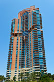 South Beach luxury condominium building in Miami, Florida