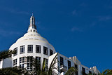 South Beach art deco building in Miami, Florida