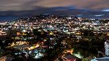 Nightfall over Antananarivo