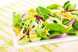 Delicious mix salad.