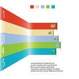 Modern info graphic element for business template