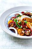 Colorful Cherry Tomato Salad wth Pine Nuts and Herbs