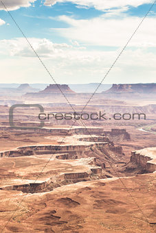 canyonlands,island in the sky