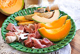 Prosciutto with melon