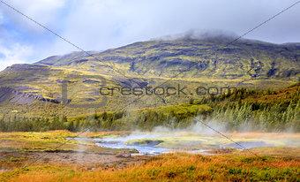 Geothermal pools
