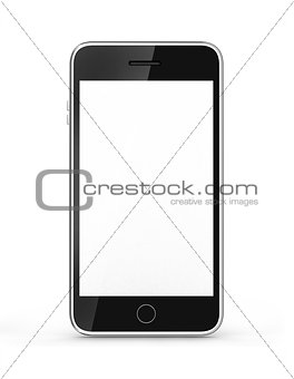 modern touch screen smartphone
