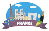 France. Tourism and travel