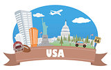 USA. Tourism and travel