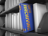 Data Archiving - Title of Book.