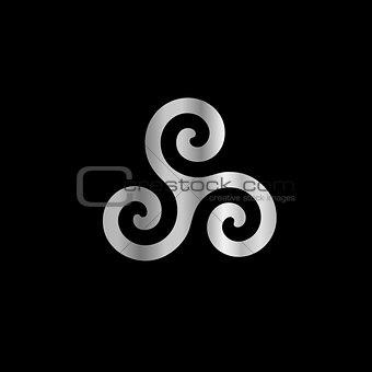 Celtic Neopaganism triple spiral triskelion