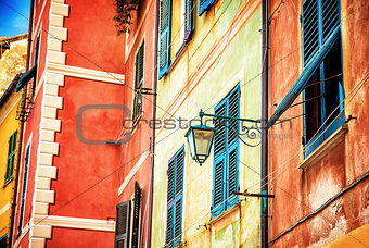 Beautiful colorful Italian house