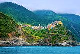 Italian city on coastline