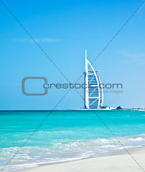 7 star luxury hotel on Dubai beach