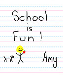 Amy is Loving School
