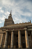 Warsaw historical architecture - Palace of Culture and Science
