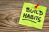 build habits reminder