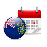 Icon of National Day on Pitcairn Islands