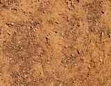 Dry terrain brown soil natural background