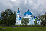St. Nicholas temple in Sortavala, Russia
