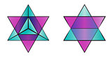 MER-KA-BA sacral geometry symbol