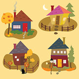 Autumn Home  Icons