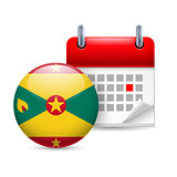 Icon of National Day in Grenada