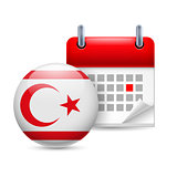 Icon of National Day in Northern Cyprus
