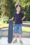 Skateboard boy
