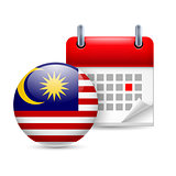 Icon of National Day in Malaysia