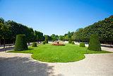 Schonbrunn Palace royal residence garden