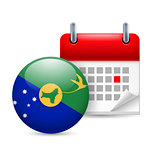 Icon of National Day on Christmas Island