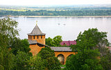 Volga river from Kremlin Nizhny Novgorod