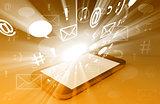 Smartphone Bursting with Content