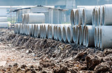 Concrete pipe piles