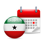 Icon of National Day in Somaliland