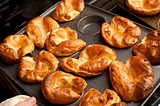 Traditional English Yorkshire puddings