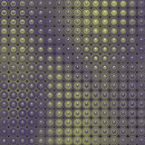 3d glossy abstract tiled bubble background in purple green