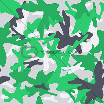 Camouflage military background. Seamless abstract pattern.