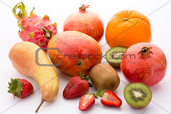 A colourful selection of fruit