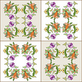 Ottoman motifs design series eighty four