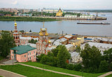 July view of colorful Nizhny Novgorod