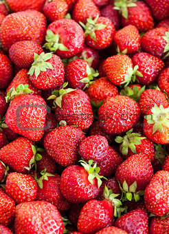 Fresh strawberry background