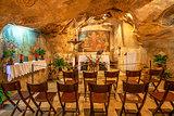 Grotto of Gethsemane in Jerusalem, Israel.