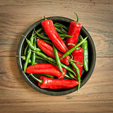 Fresh Chilli Pepper Selection