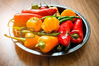 Fresh Chilli Pepper Selection