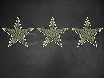 Three stars ratings