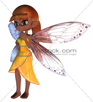 Toon Fairy in Yellow Dress
