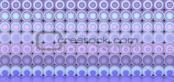 3d abstract tiled mosaic background in purple lavender